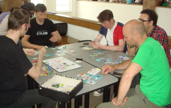 Играем на на Игросфере (Украина) с директором Portal Games
