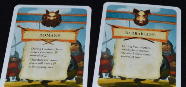 Две карты для соло-игры